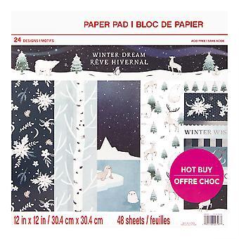 Craft Smith Winter Dream 12x12 Inch Paper Pad