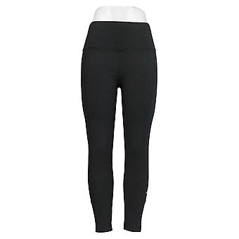 AnyBody Women's Leggings Move Active Stretch Jersey Knit Black A349825