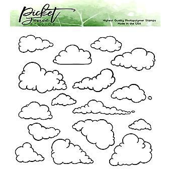 Picket Fence Studios On a Cloud of Dreams Clear Stamps