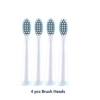 Electric Toothbrush Rechargeable Ultrasonic Washable Electronic Whitening Waterproof Teeth Brush Head Replaceable
