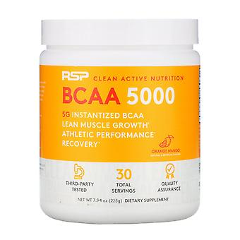 RSP Nutrition, BCAA 5000, Orange Mango, 5,000 mg, 7.94 oz (225 g)
