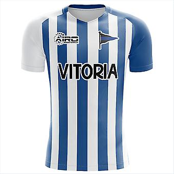2020-2021 Deportivo Alaves Home Concept Jalkapallopaita