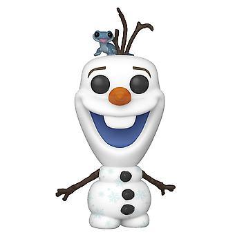 Frozen 2 Olaf with Fire Salamander Pop! Vinyl