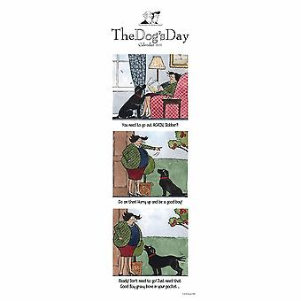 Otter House 2021 Slim Calendar - The Dogs Day