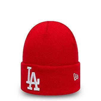 العصر الجديد المرأة الشتاء قبعة Beanie -- لوس انجليس المراوغات الأحمر