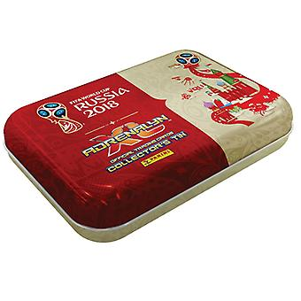 Panini FIFA World Cup 2018 Adrenalyn XL handel kort Pocket samleobjekt Tin