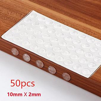 Rubber Muffling Anti-collision Door Stops Silicone Cabinet Drawers Cabinet Bumpers Furniture Hardware