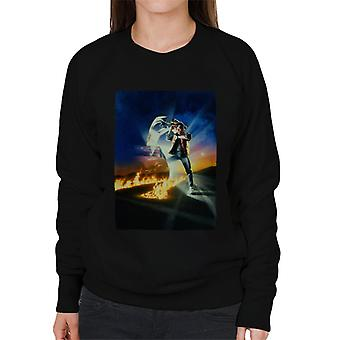Back to the Future Marty Looking At His Watch Women's Sweatshirt