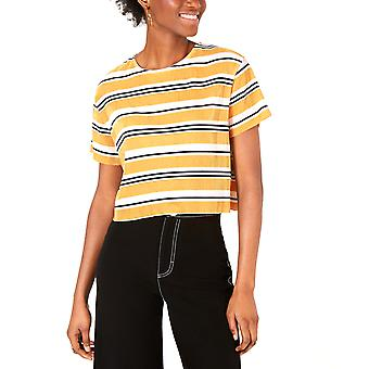 Project 28 NYC | House of Polly Striped Cropped T-Shirt