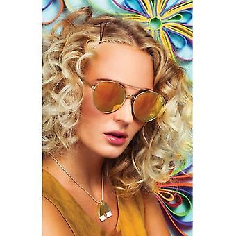 Quay Eyeware Circuslife - Gold / Pink Mirror