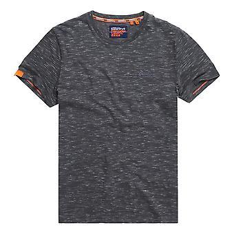 Superdry OL Vintage EMB Crew T-Shirt - Slate Space Dye