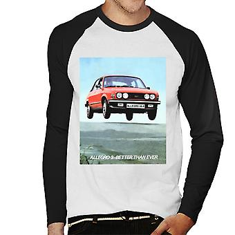 Austin Allegro 3 Better Than Ever British Motor Heritage Men's Baseball Long Sleeved T-Shirt