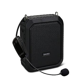 Portable Voice Amplifier Wireless Uhf Microphone, Waterproof Bluetooth Audio