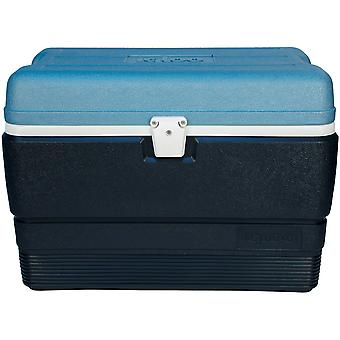 IGLOO MaxCold 50 qt. Hard Cooler - Jet Carbon/Ice Blue