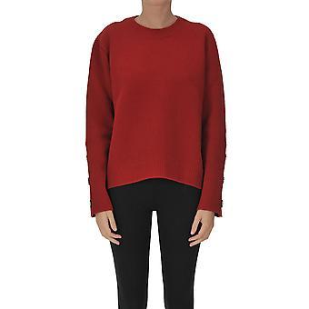 N°21 Ezgl068223 Women's Red Wool Sweater