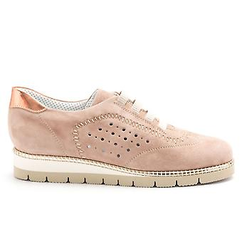 Alfredo Giantin Rosa Sneakers aus weichem Wildleder