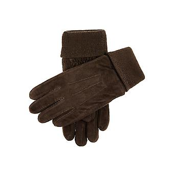 Men's Fleece Lined Suede Guantes