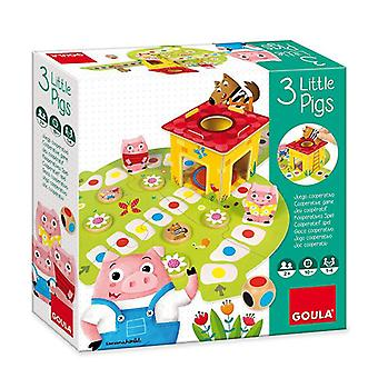 Wooden Game Diset Goula 3 Little Pig Wood