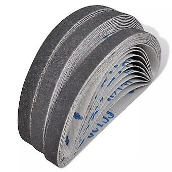 Grinding belts for compressed air belt grinder30 pcs. 10×330 mm