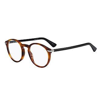 Dior DIORESSENCE5 581 Havana-Zwarte Bril