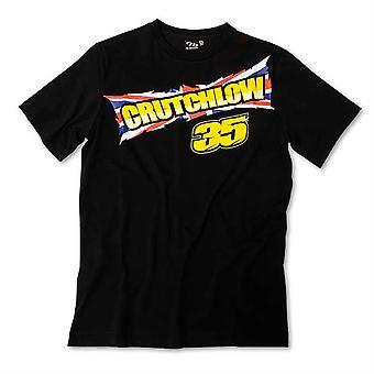 Mens T-Shirt Crutchlow 35 Black