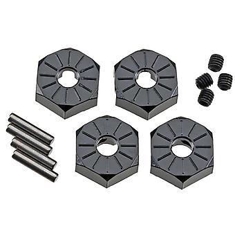 Axial Z-AX30427 Aluminum Hub Narrow 12mm Black (4)