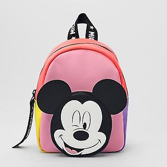 Children's Bag Mickey Mouse, Bacpack, Spring, Autumn, Minnie Pattern Kids