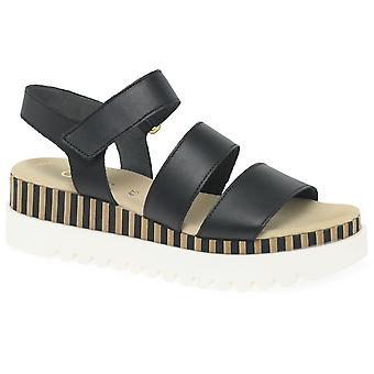 Gabor Sophia Womens Wedge Heel Sandals