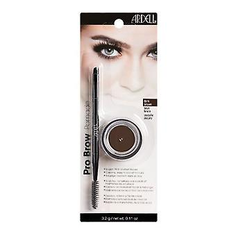 Ardell Pro Brow Pomade - Dark Brown - Professional Highly Pigmented Formula
