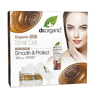 Organic Snail Gel Anti Age Set 15 ml