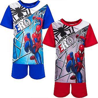Spider-Man 2 split set - T-shirt & Shorts / Pyjama met korte mouwen