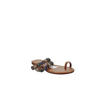 Thalia Sodi | Joya Toe-Ring Flat Sandals