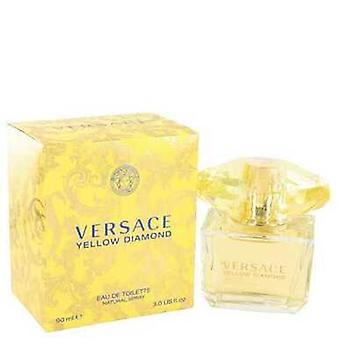 Versace keltainen timantti by Versace Eau de Toilette Spray 3 oz (naiset) V728-489848