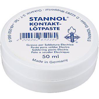 Stannol 165018 Kontakt Lotpaste Colophony / Rosin Based Flux Paste - 50ml