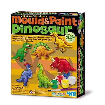 4M dinosaur mould and paint 1 mixed