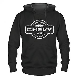 Chevy Super Service Logo Hoodie