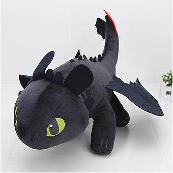 Toothless Dragon Soft Stuffed Animal Plush Toys Doll Stuffed Gift Children Doll