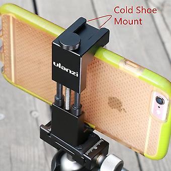 Metall Stativ Handy Halterung mit Hot Shoe Mount Smartphone Stativhalterung Adapter Video Rig fr