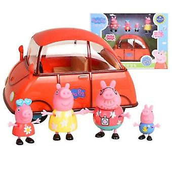 Piggy Play House Peppa George Toy Children Girl Gift Peppa Happy Family Car