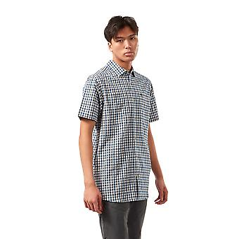 Craghoppers Mens Nour Short Sleeve Check Walking Shirt