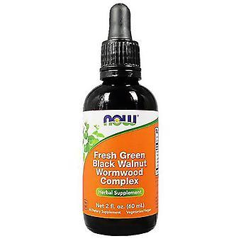 Now Foods Green Black Walnut Wormwood Complex Flüssigkeit 59 ml