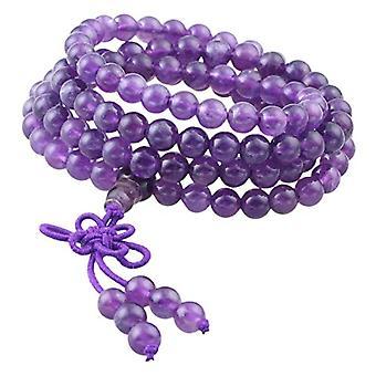 KYEYGWO 108 - Bracelet with Mala prayer pearls for men and women, 6 mm, with Tibetan Buddhist healing stone, unisex, Ref. 0635946998786