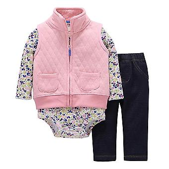 Baby Girls Zipper Hooded Clothes