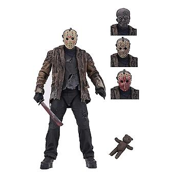 Jason Voorhees Ultimate Edition Poseable Figur fra fredag den 13.