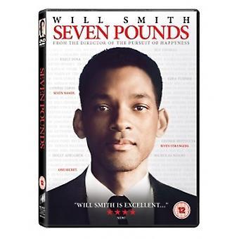 Siedem funtów 2009 DVD