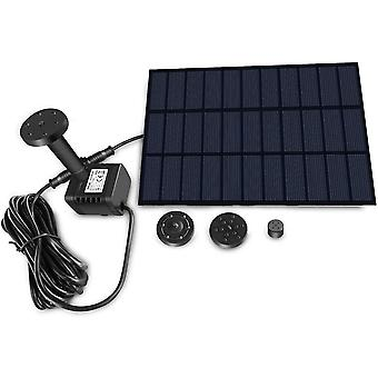 Solar fountain with panel dt4457