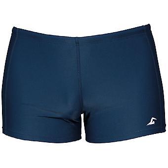 SwimTech Aqua Navy Swim Shorts Junior - 30 Inch