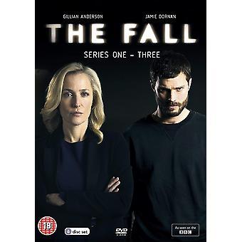 The Fall: Series 1-3 DVD