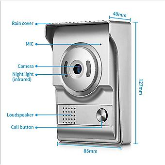 Door Phone Cameras For 4 Wire Cable Wired Video  Intercom Entry System