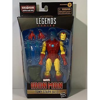 Homem de Ferro Tony Stark A.I Legends Série Hasbro F0252